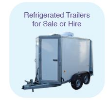 Refrigerated Trailers for sale or hire