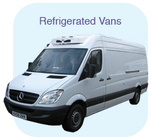 Our refrigerated vans